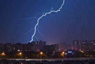 Молния в Киеве