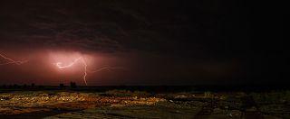 Молния над Красным морем