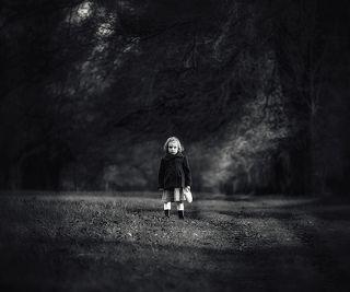 Dark Autumn Angel