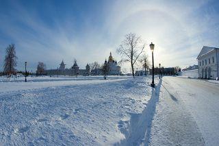 Тобольск, Тюремный замок, взгляд через \
