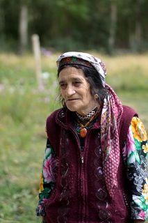 Ваханская женщина