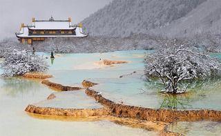 Китай Национальный парк Хуанлонг 2010г
