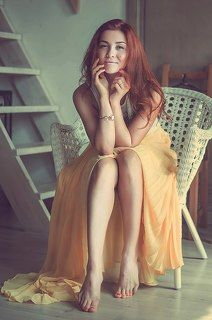 girl in yellow-by-anny-agafontceva