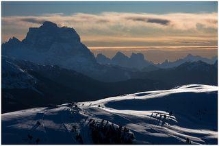Альпы, январь 2010