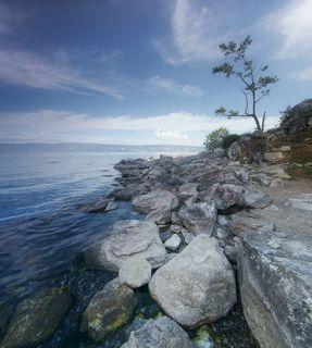 Ольхон, озеро Байкал. Территория Прибайкальского национального парка.
