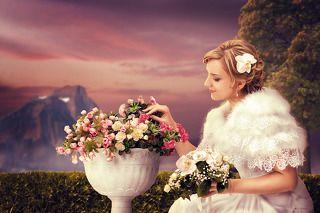 Данный снимок является свадебным \