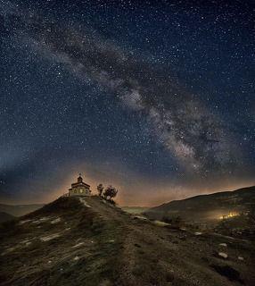 Borovo in the night