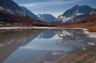 Озеро Аккель, Республика Алтай