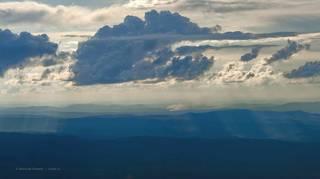 Вид с хребта Зигальга. Южный Урал.