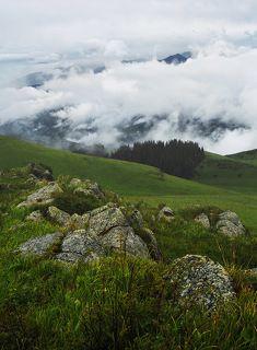 №2. По горам, по долам ходят (дальше рифма умерла) белоснежная норковая шуба да драный овечий кафтан :)))