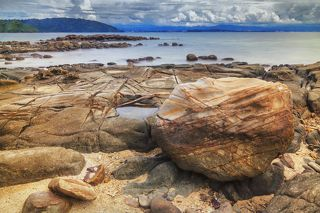 Остров Сапи, Борнео, Сабах, Малайзия