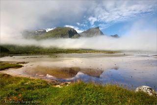 Типичный норвежский пейзаж