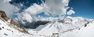 Горы Заилийского Алатау.