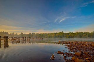Рассвет на реке Косьва.