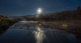 Ленобласть, река Оять