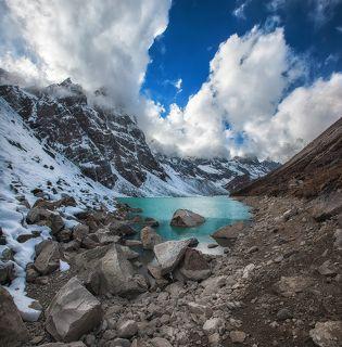Близ Dingboche (4410 м)