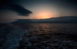 Закат над Аю-Даг...