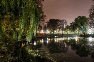 Осенний вечер в Старой Риге.