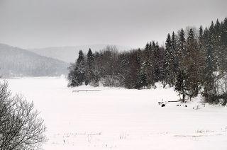 Самая северная точка Ладожского озера.