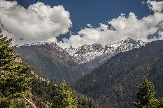 Для моего первого путешествия в горы я естественно выбрал Гималаи, горный район Непала - Лангтанг.