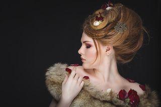 Модель: Лиза Визажист-стилист: Лиза Ролдугина Фотостудия Фабрика г.Тула