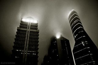 dark city of rain..