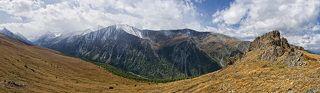 Вид с перевала Сарыбель