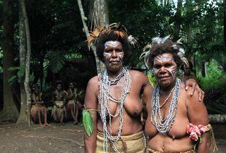 бабушки с острова Малекула, Вануату, Новые Гибриды