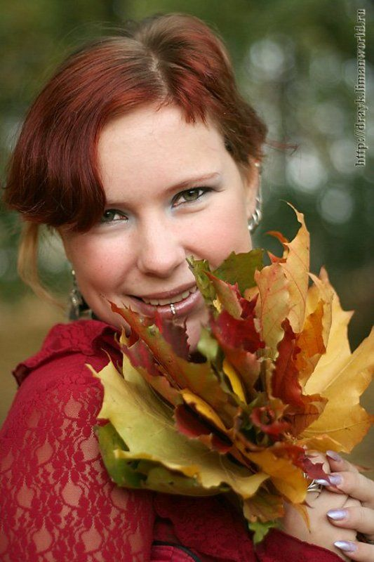 осень листья Осенний пирсингphoto preview