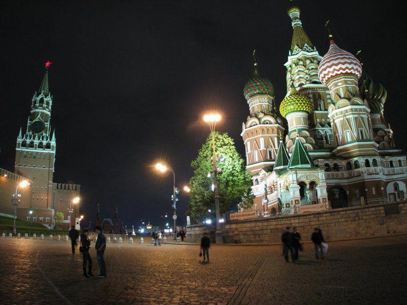 assa,город,ночь,Москва Площадь Краснаяphoto preview