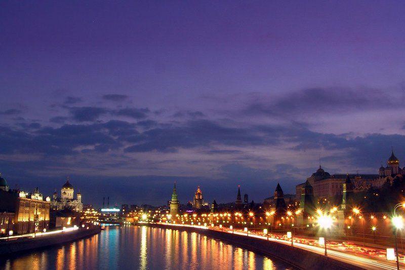 москва, ночь *photo preview