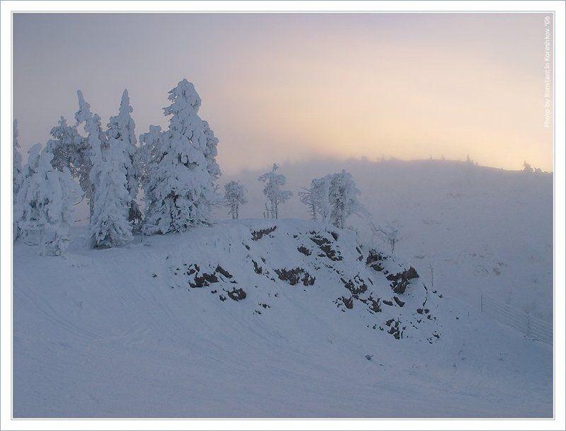 Финляндия, Finland, Лапландия, Lapland, Куусамо, Kuusamo, Рука, Ruka, олени, Саамы, хаски, горные, лыжи, Lappi Трескучий мороз Финской Лапландииphoto preview