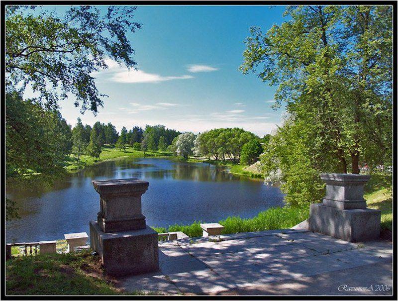 Павловск, пейзаж Павловск. Погожий денёк.photo preview
