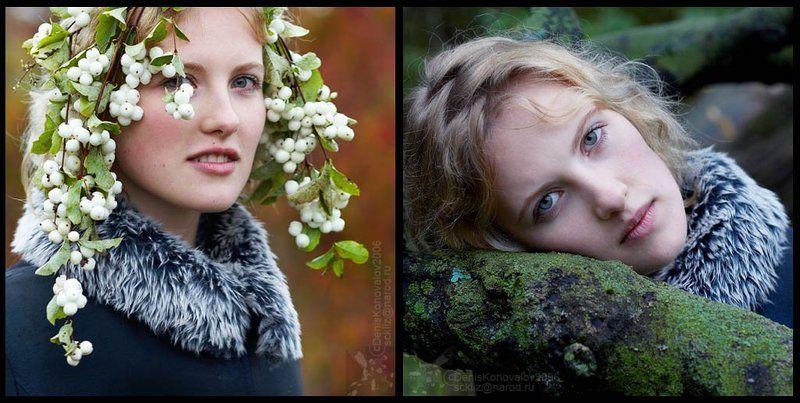 осень, девушка Осенний портрет #4,5photo preview