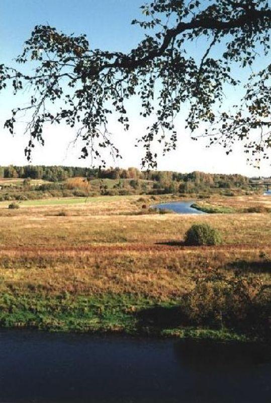 Пушкинские горы, село Тригорское Осень в Тригорскомphoto preview