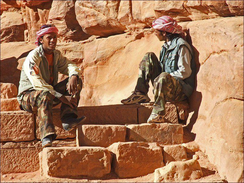 Иордания, Петра, бедуины На обломках набатийской культурыphoto preview