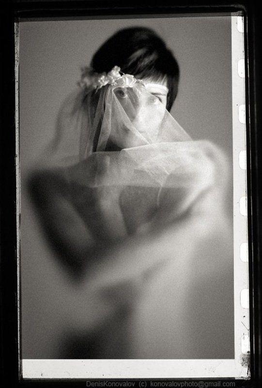 портрет девушки в фате ***photo preview
