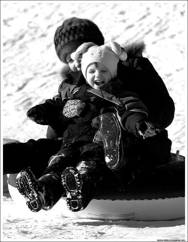 Радость, зима, Кусково, санки Радость!photo preview