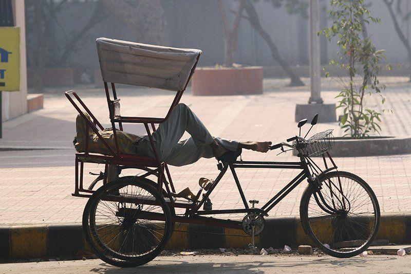 рикша, Индия, Дели rikshaphoto preview
