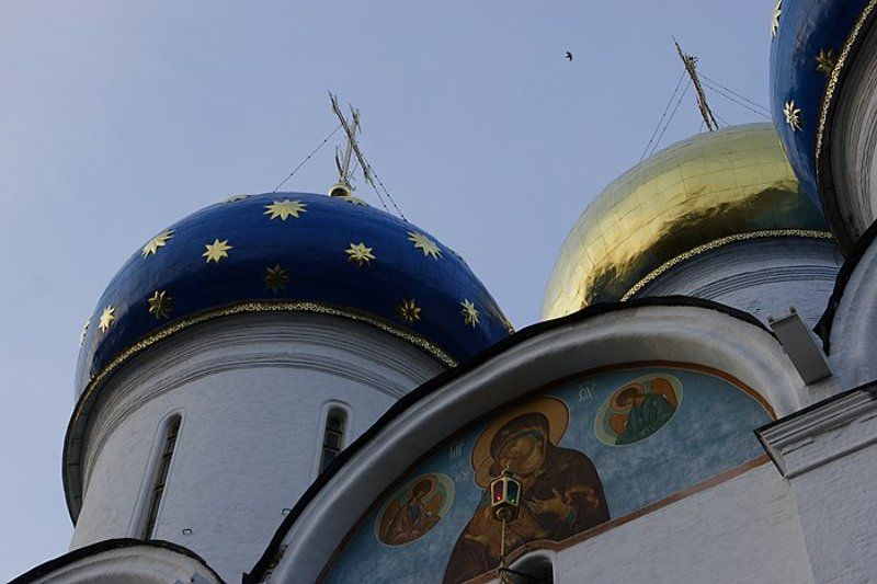 Сергиев-Посад купола церковь лавра photo preview