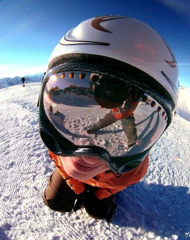Hintertux, Austria, Tyrol look who\'s here!photo preview