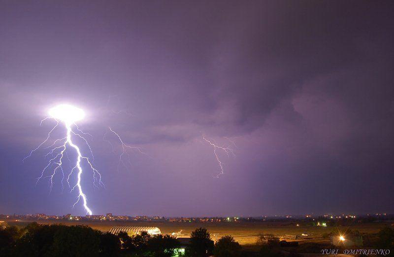 кбр,нальчик,гроза,молния,аэропорт,тучи,небо,вспышка,ночь Война Миров...photo preview