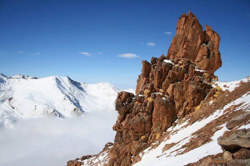 казахстан, заилийский, алатау, природа, горы С пьедесталаphoto preview