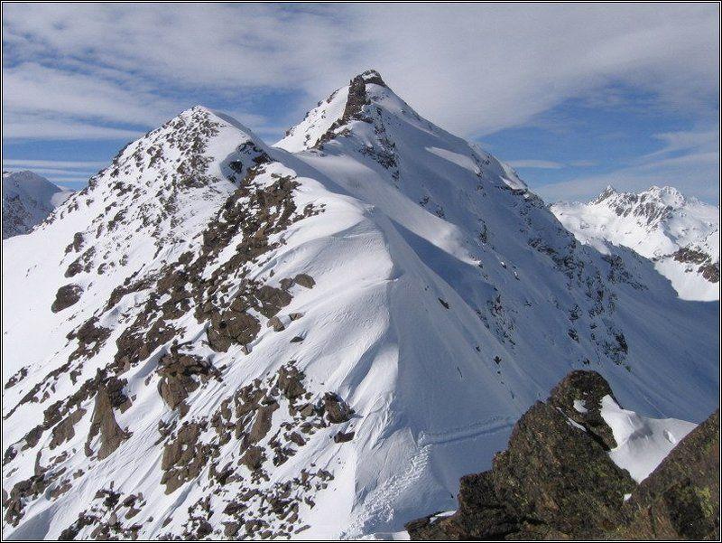 Чегет, вершина, гора На вершинеphoto preview