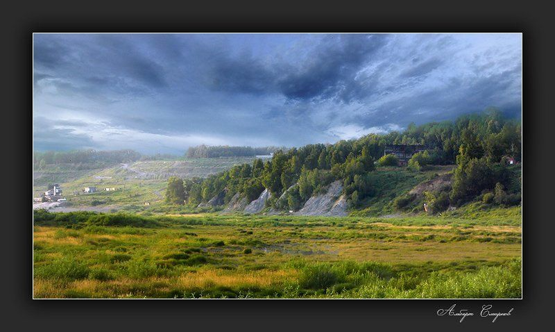гроза, томск, тучи, плохая, погода, природа За 2 минуты до Грозы...photo preview
