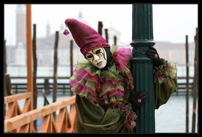 Италия, Венеция, Карнавал, Маски, Italy, Venice, Venezia, Mask, carnival, carnevale Печаль (Венецианский карнавал)photo preview