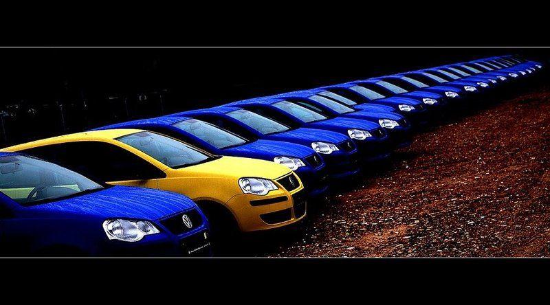VW POLO chiuzhoij sredi svojix...photo preview