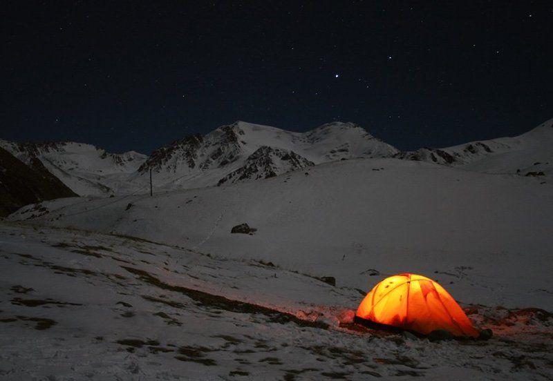 казахстан, заилийский, алатау, природа, горы В ночи...photo preview