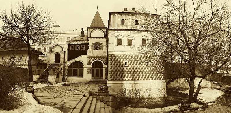 Москва, Зарядье, палаты бояр Романовых, 17 в. photo preview