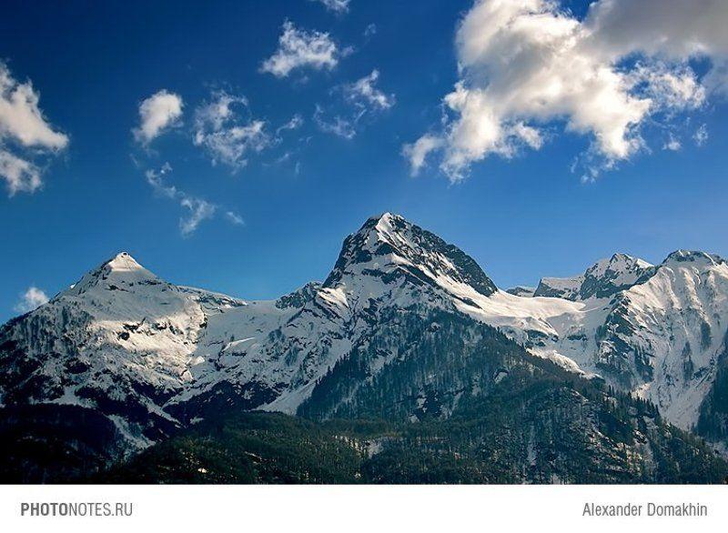 горы, Кавказ, Кубань, пейзаж, путешествия, PHOTONOTES.RU Главное в горах что? Главное - атмосфера!photo preview